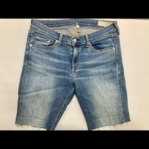 Rag & bone Murray Capri cut off shorts size 30